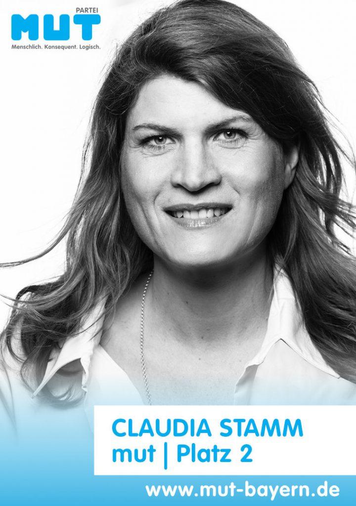Claudia Stamm, mut, Platz 2, Liste 14